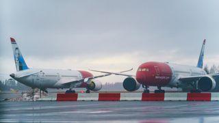Norwegians Dreamliner-fly.