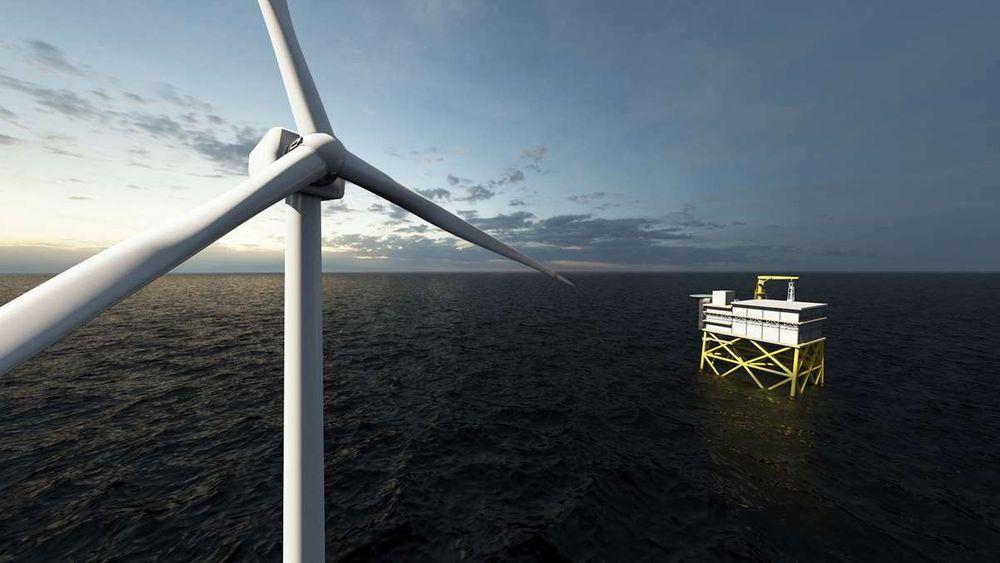 Aker Solutions skal levere en omformerplattform til et stort offshore havvindprosjekt. Kontrakten er på minst 3 milliarder kroner.