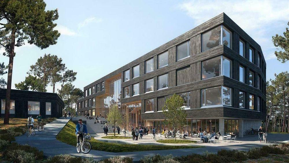 Den nye fagskolen i Grimstad vil bruke sine sorptive kjøleaggregater i undervisningen.