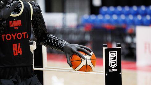 Basketstjernen CUE fikk vise seg frem under OL