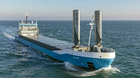 Skal forske på mulighetene for vindteknologi på skip