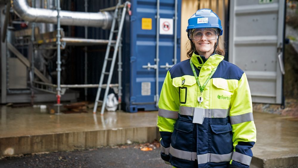 Jannicke Gerner Bjerkås er CCS-direktør ved Fortum Oslo Varme. Hun forklarer at de nå velger å redusere summen de søker om, for å unngå at andelen av den totale potten til deres prosjekt relativt sett blir for høy.
