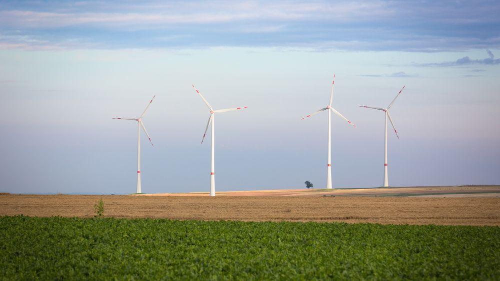 Hele energibehovet til Tyskland kan dekkes av fornybare kilder i løpet av 10 til 15 år, ifølge en fersk rapport. Spesielt vind vil spille en viktig rolle i å få det til, her illustrert ved vindturbiner i Rhine-Hesse i Tyskland.