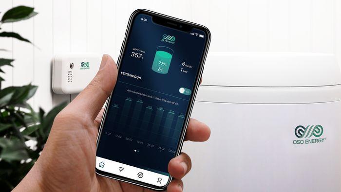 Man kan utsette oppvarmingen via en app.