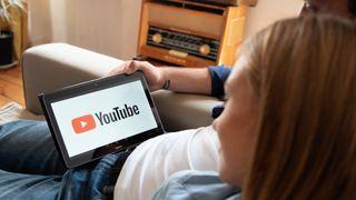 Youtube på nettbrett.
