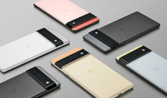 Varianter av Googles kommende Pixel 6-mobil.