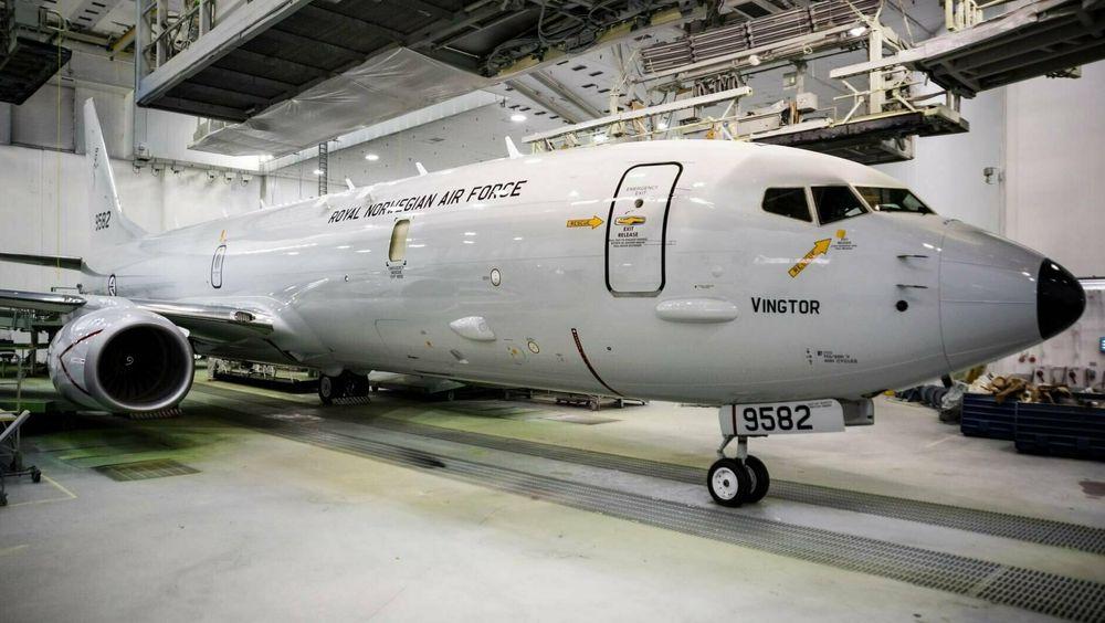 Norges første P-8A Poseidon heter «Vingtor» og skal overtas av Forsvarsmateriell i løpet av høsten.