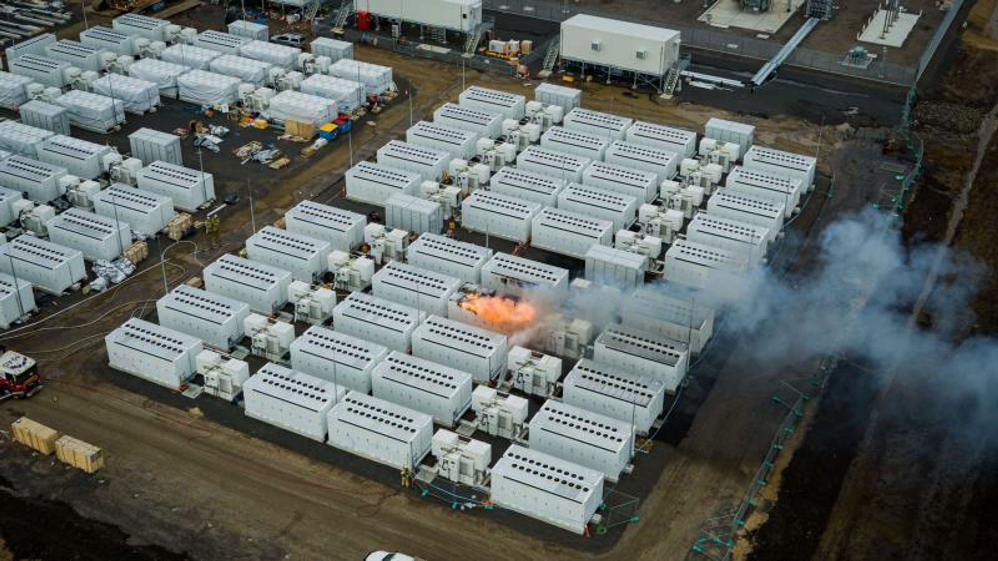 En an verdens største batteriparker, Victorian Big Battery, kommer til produsere 450 MWh.