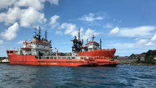 Bellona aksjonerer mot offshore-skip i opplag:Vurderer å ta seg om bord