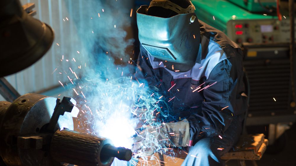 Metallvareindustrien bidro med en vekst på 7,4 prosent.