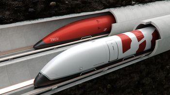 Firmaet Swisspod utvikler podder til bruk i hyperloop.