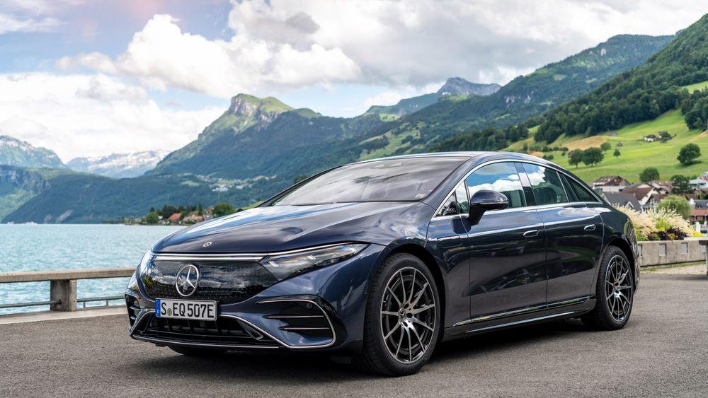 Mercedes-Benz EQS leveres til høsten.