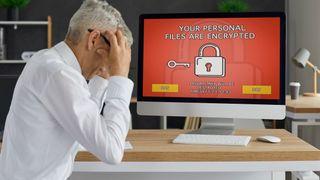 Mann fortviler over at hans personlige filer har blitt kryptert i et angrep med utpressingsvare.
