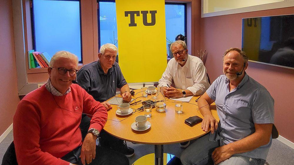 Gapet mellom ambisjoner og virkelighet: Leder for Elektroforeningen Frank Jaegtnes og direktør for nøringspolitikk i Nelfo, Tore Strandskog opptatt av hvordan vi skal oppfylle politikernes ambisjoner om nullutslipp transport.