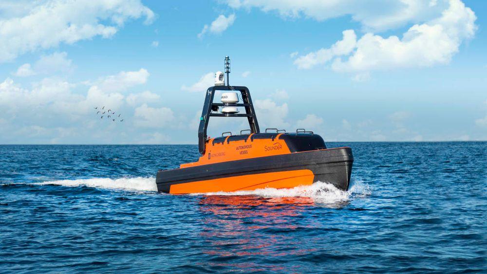 Kongsberg skal blant annet bidra med autonome overflatefarkoster som skal overføre havbunnsdata.
