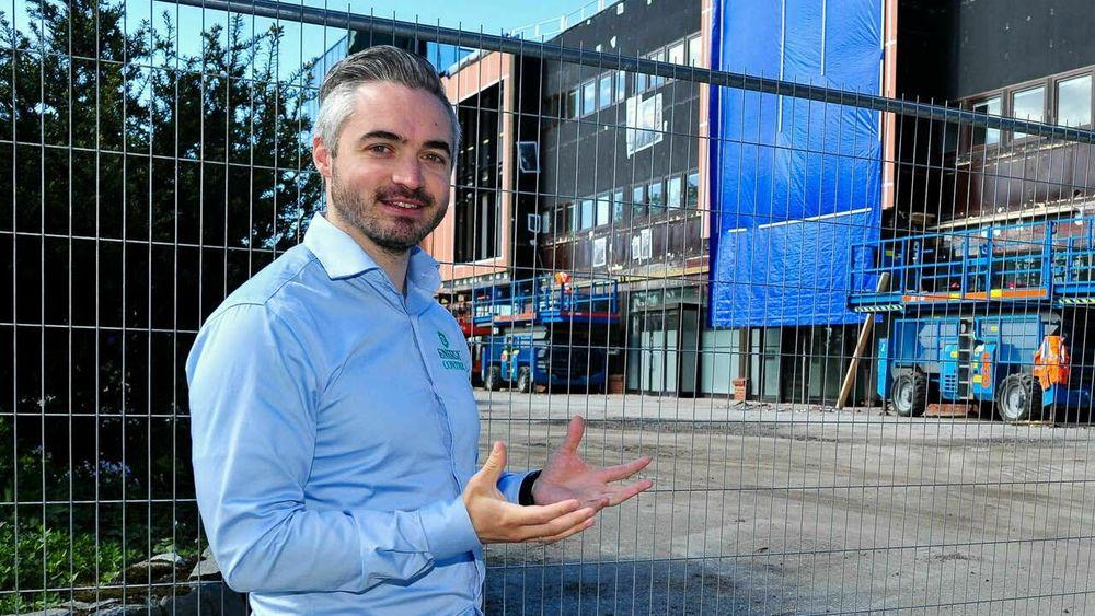Bygget utviklet seg etter hvert til en levende lab for uttesting av ny eiendomsteknologi. På denne måten gikk bygget fra å være helt uten data til å være et av de mest dokumenterte byggene i Bergen, skriver Tommy Hagenes.