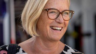 Parlamentarisk leder i Senterpartiet Marit Arnstad vil ikke sende strøm fra havvindinstallasjoner direkte til Europa.