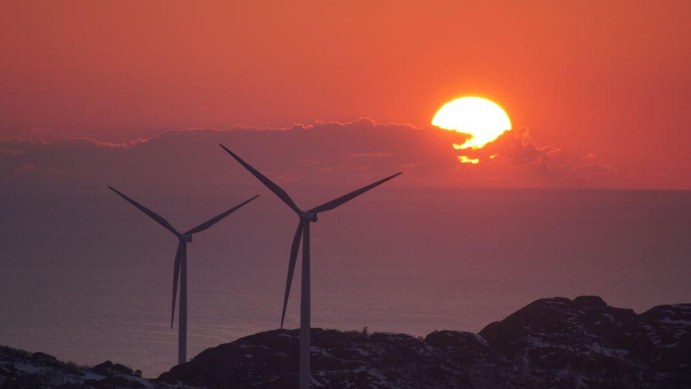 Det kan bli full stopp for vindkraft på land i Norge. Her fra vindkraftverket på Lista.