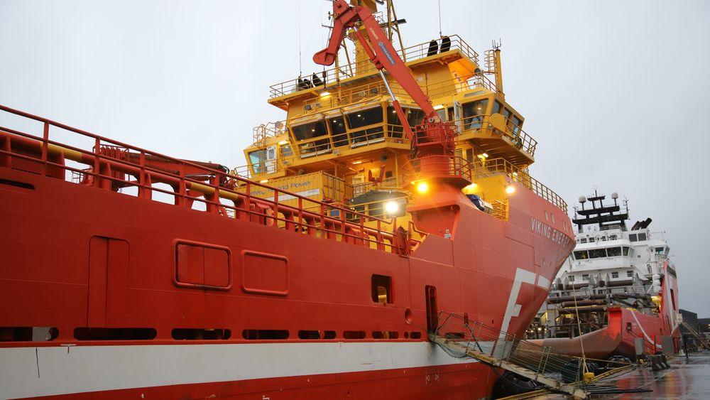Eidesvik-skipet Viking Energy blir det første som går på ammoniakkdrevet brenselcelle. Equinor deltar i prosjektet . I dag er det LNG-batterihybrid framdrift.