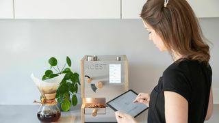 Kaffebrenneren fra Roest lagrer detaljert informasjon om brenneprosessen.