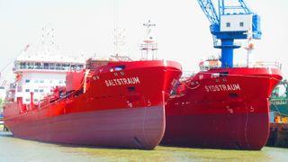 De fire skipene er bare to år gamle – allerede nå skal de bygges om