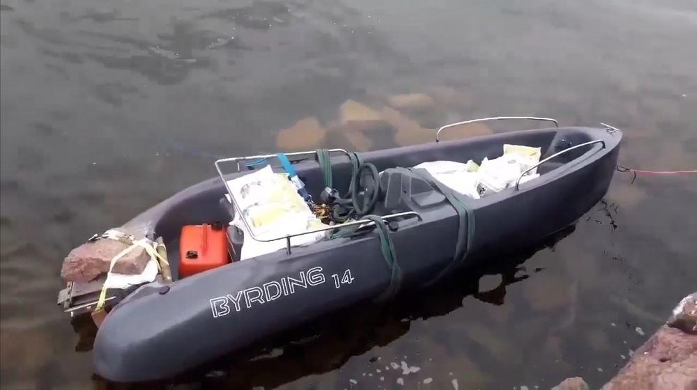 Gründeren ser på båtprosjektet som en fiasko.