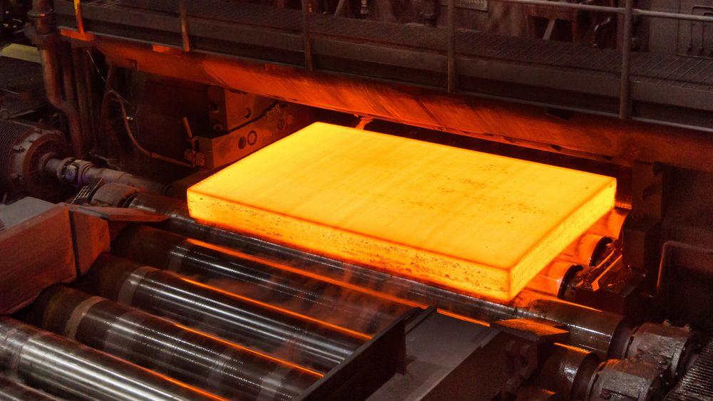 Verdens første fossilfrie stål, produsert i Sverige i sommer.