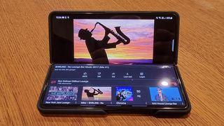 Test: Samsungs nye brettbare mobil