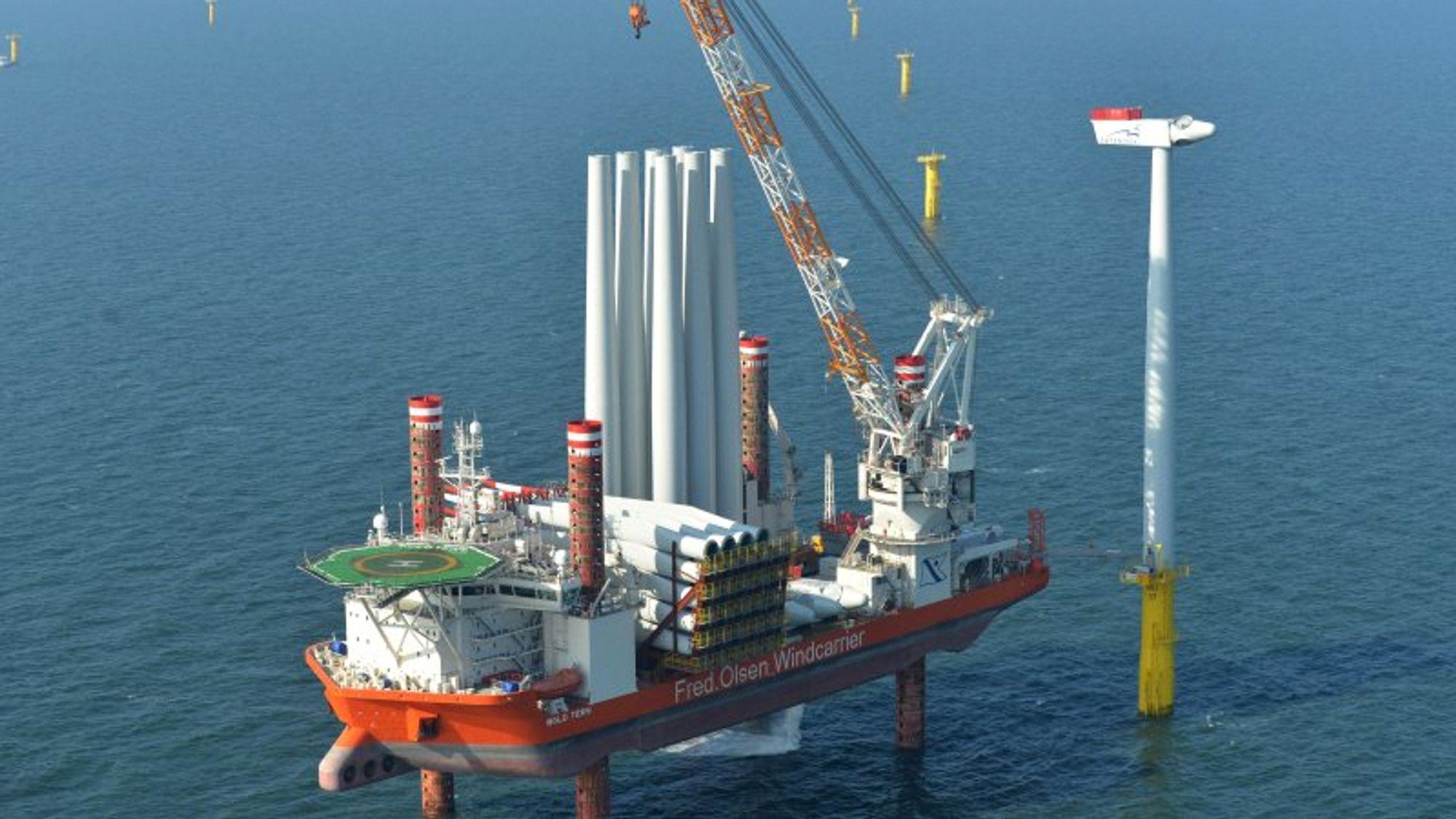 Regjeringen vil auksjonere bort havvind i Sørlige del av Nordsjøen. Det er ikke noen god idé, mener industrien.