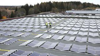 Asko norgesgruppen solceller strategi solcelleanlegg lars erik olsen fusen torbjørn johanneson bedriftskultur ledelse