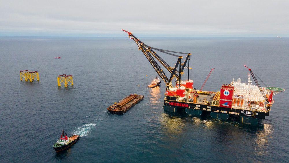 I desember i fjor vedtok Danmark at de ikke skal starte ny leteboring i Nordsjøen, og at oljeutvinningen skal avvikles helt innen 2050. Her fra Tyra-feltet på dansk sokkel. Nå vil de starte en allianse sammen med Costa Rica for land som planlegger utfasing av oljeproduksjon.