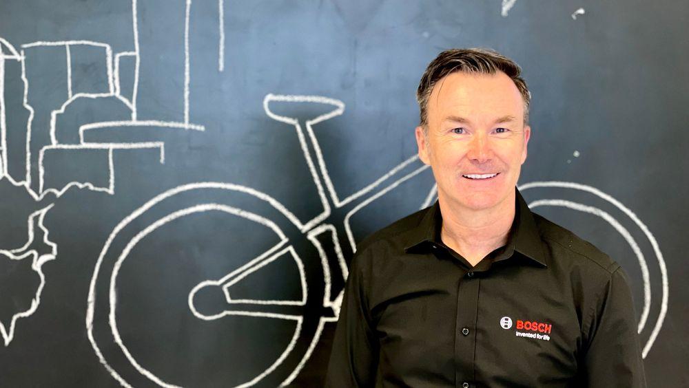 – Revolusjonen i elsykkelmarkedet vil komme innen data og tilkoblede tjenester, slår Bosch-sjef Claus Fleischer fast. Foto: Svein-Erik Hole