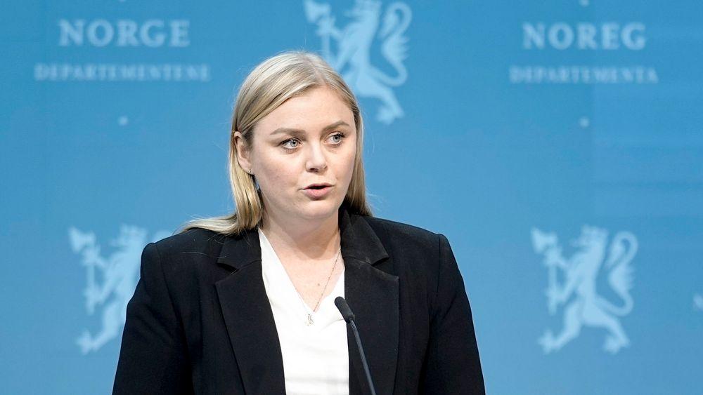 – Jeg håper på bred politisk enighet om en omlegging til kontantstrømskatt slik vi nå foreslår, sier olje- og energiminister Tina Bru (H).