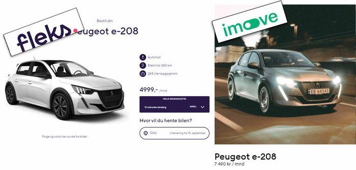 Samme bil, ulik pris: Det ene tilbudet ser kanskje bedre ut, men du må studere det nøye for å finne ut om det faktisk er realiteten.