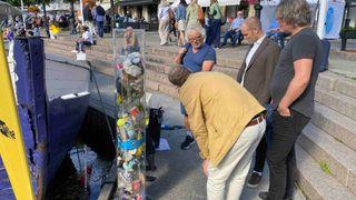 Møt mannen bak verktøyene som rydder havnene for plast