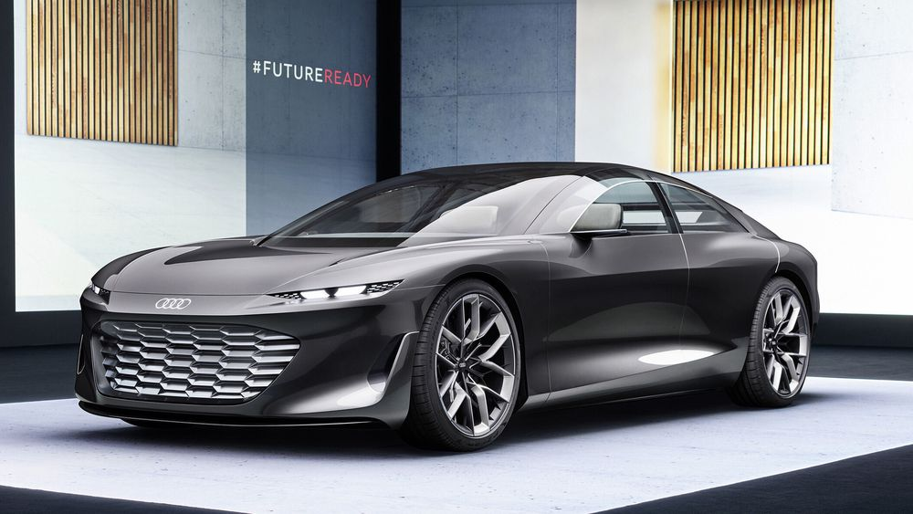Audis Grandsphere Concept.