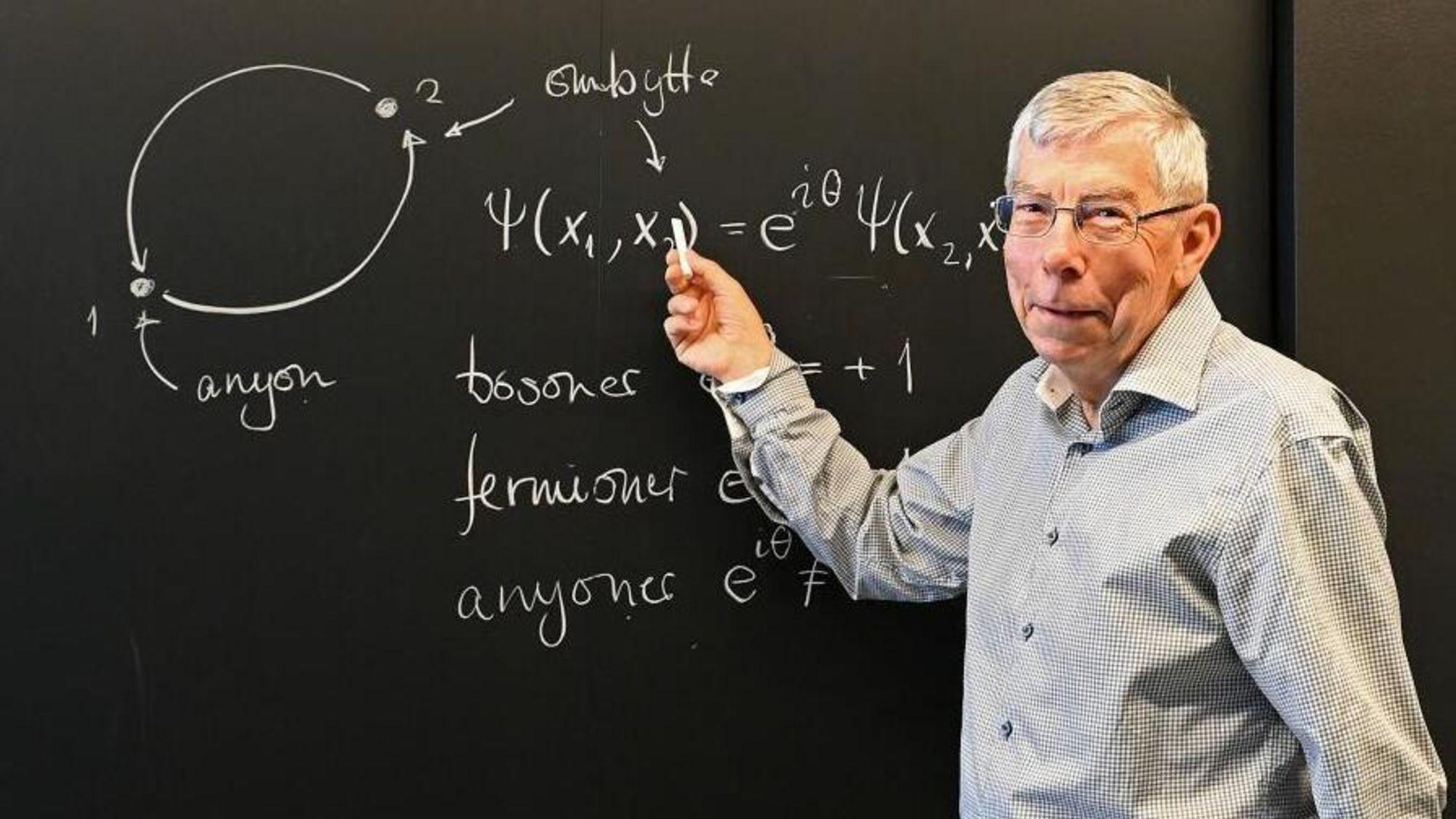 Jon Magne Leinaas overlater til andre å svare på om de nye eksperimentene er et gjennombrudd for anyon-teorien.