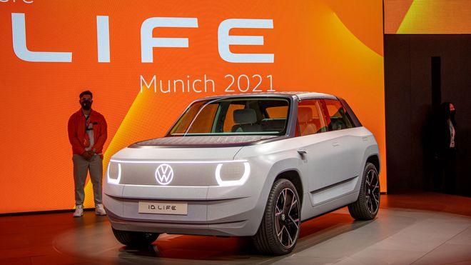 Volkswagen ID. Life er et konsept som leker med hvordan en billig elbil kan være.