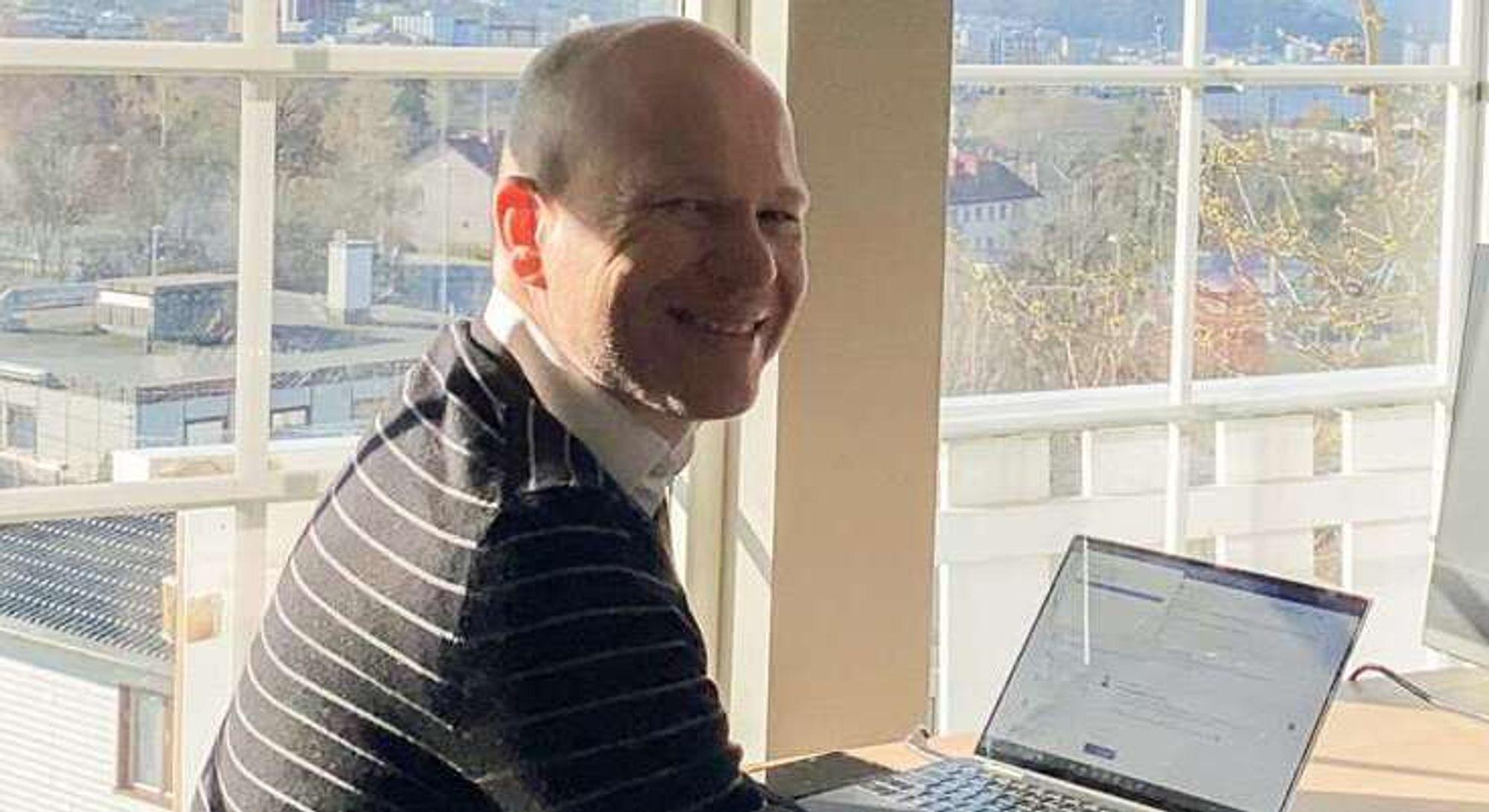 GIR DEG RÅD: HR-sjef i NITO, Thomas Andersen.