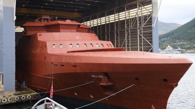 80 prosent norsk innhold i nye kystvaktskip: Skaper arbeid for opp mot 500