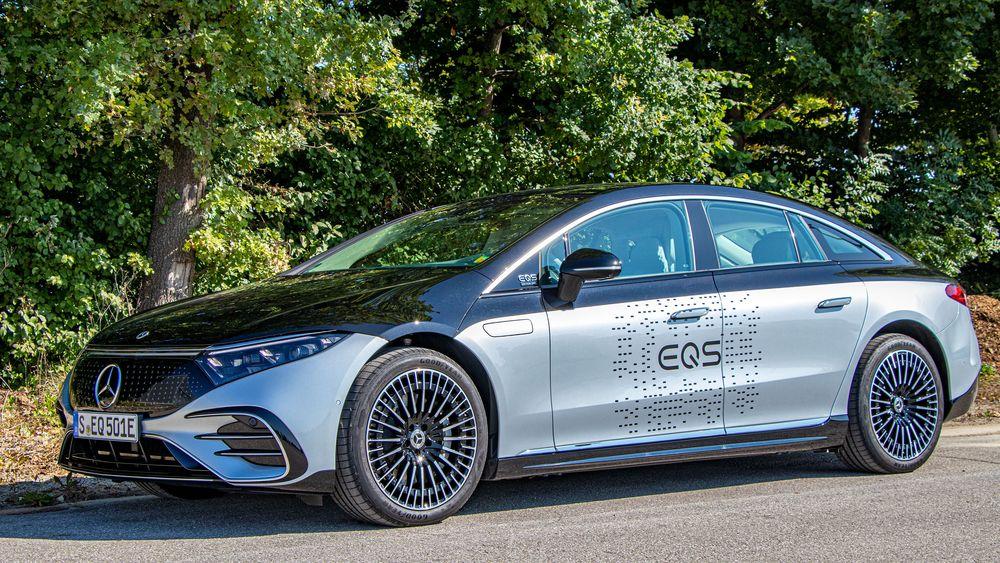Mercedes-Benz EQS 580 4matic.