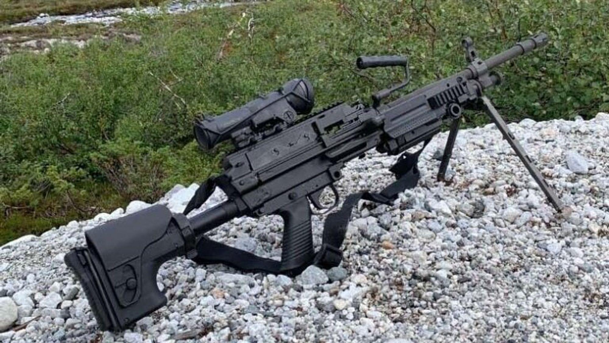 FN Minimi 7,62 Mk3 Tactical under testing i Norge. Nå er det bestilt tusen slike maskingevær.