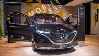 Mercedes-Benz EQT Concept.