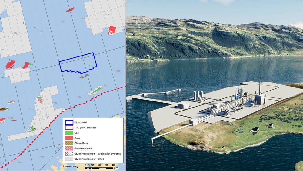Fredag lyste regjeringen ut to nye områder for CO2-lagring på norsk sokkel. Horisont Energi bekrefter at de vil søke på lisensen i Barentshavet, hvor de skal fange CO2 fra ammoniakkproduksjon og lagre det under havbunnen.