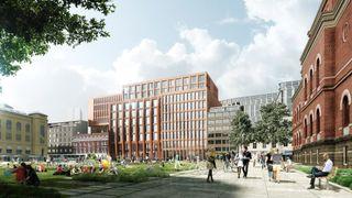 KA13-prosjektet i Oslo har fått mye oppmerksomhet for sin ombruksfilosofi. Nå skal ombruk bli enklere for større deler av byggebransjen.