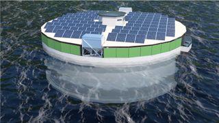 Utvikler mener solceller er fornuftig på oppdrettsanlegg med 50 års levetid