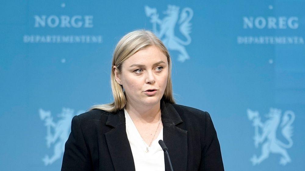 Olje- og energiminister Tina Bru (H).
