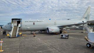 Den første nye ubåtjegeren som skal til Norge: – Spesiell situasjon på Boeing-fabrikken
