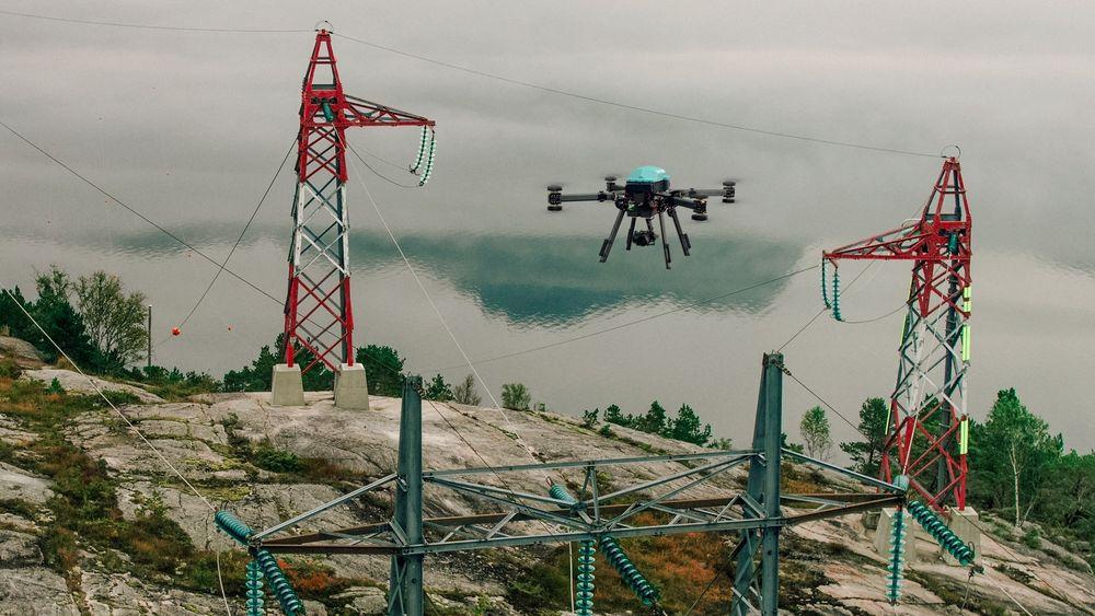 KVS Technologies har spesialisert seg på inspeksjoner med sin drone Explorer E30.
