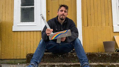 Hans Even Dalland, Stjørdal, portåpner, grindåpner, oppfinner, no grab, barnehage